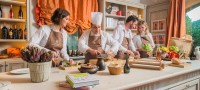 Chef for a day, Hotels with Cooking classes France